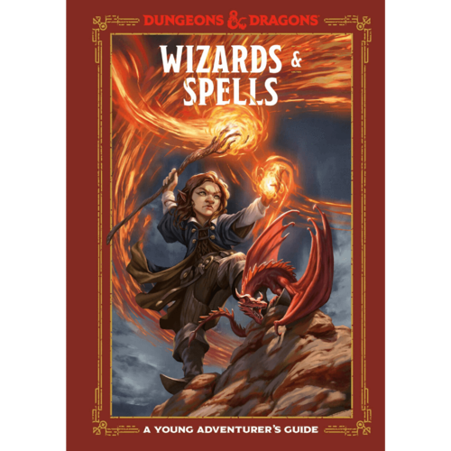 Wizards and Spells- A Young Adventurer's Guide Dungeons and Dragons