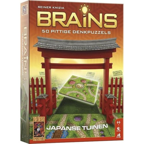 999 Games Brains- De Japanse Tuinen