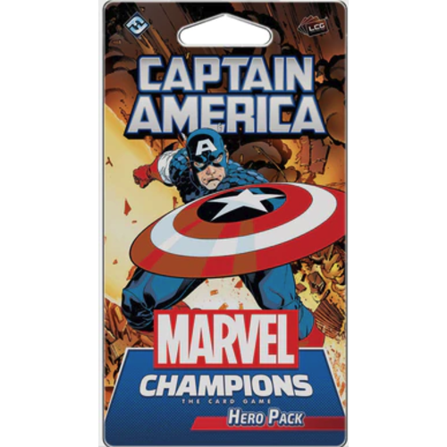 Fantasy Flight Marvel Champions LCG- Captain America Hero