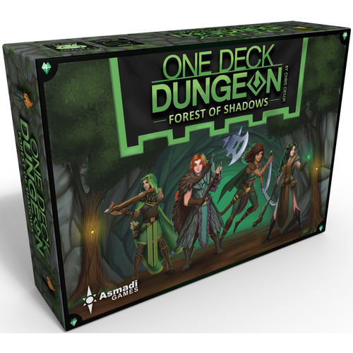 - One Deck Dungeon- Forest of Shadows