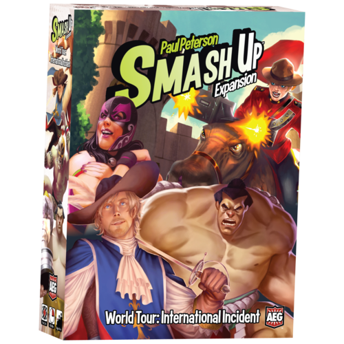 AEG Smash Up- World Tour International Incident Exp
