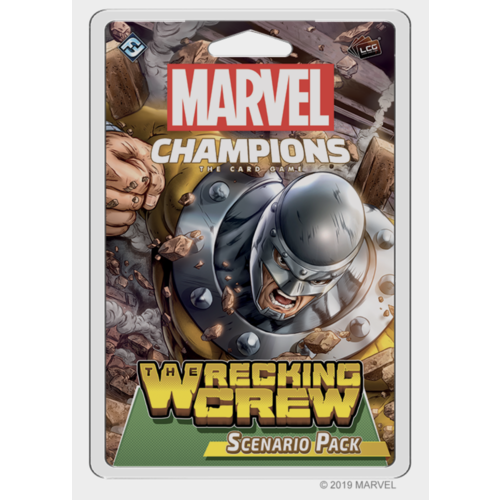 Fantasy Flight Marvel Champions LCG- The Wrecking Crew Scenario