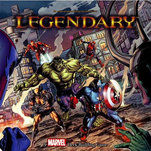 Upper Deck Legendary: Marvel Deckbuilding Game