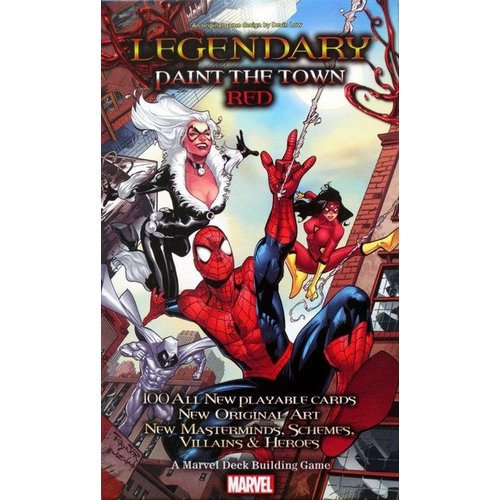 Upper Deck Marvel Legendary : Spider Man Paint the Town Red