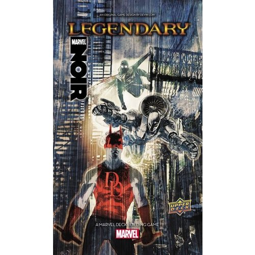Upper Deck Marvel Legendary- Noir