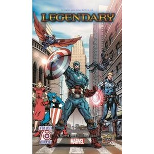 Upper Deck Marvel Legendary Captain America 75th Annivers