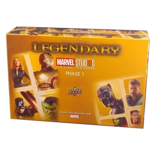 Upper Deck Legendary: Marvel Studios 10th Anniversary