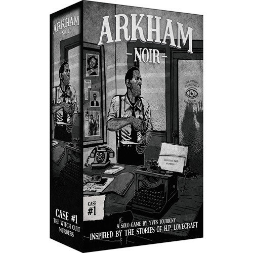 - Arkham Noir- The Witch Cult Murders