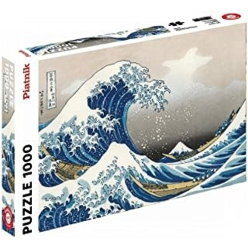 - Hokusai- the Big Wave Puzzle (1000)