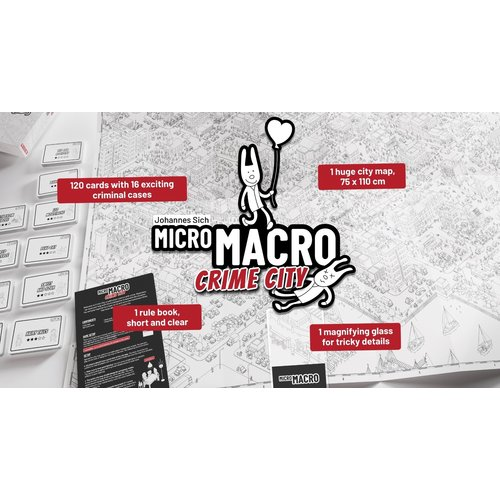 Pegasus MicroMacro- Crime City ENG