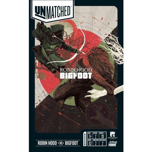 - Unmatched Battle of Legends- Robin Hood vs Bigfoot