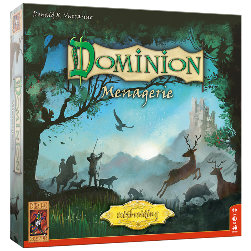999 Games Dominion- Menagerie NL