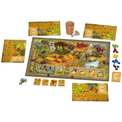 999 Games Stenen Tijdperk: Talisman