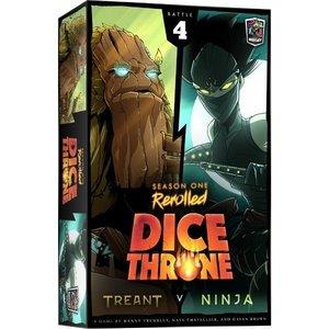 Roxley Games Dice Throne Season 1 Rerolled- Treant vs Ninja (Box 4)