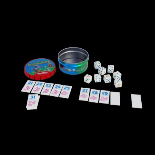 999 Games Tiny Tins- Regenwormen