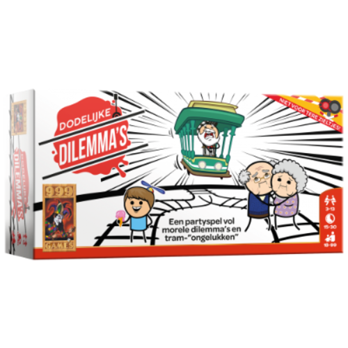 999 Games Dodelijke Dilemma's (Trial by Trolley NL)