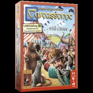 999 Games Carcassonne- Het Circus uitbreiding