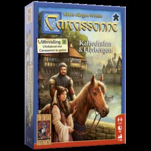 999 Games Carcassonne- Kathedralen & Herbergen uitbreiding