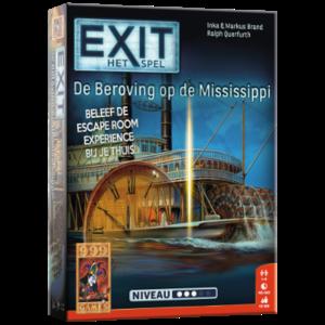 999 Games EXIT- De Beroving op de Mississippi