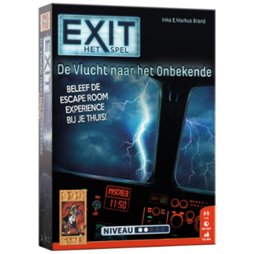 999 Games EXIT- De Vlucht naar het Onbekende