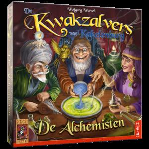 999 Games De Kwakzalvers van Kakelenburg - De Alchemisten Expansion
