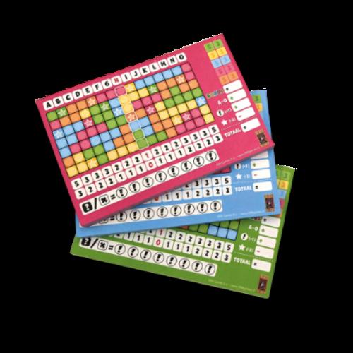 999 Games Keer op Keer- Scoreblokken Level 5, 6 en 7