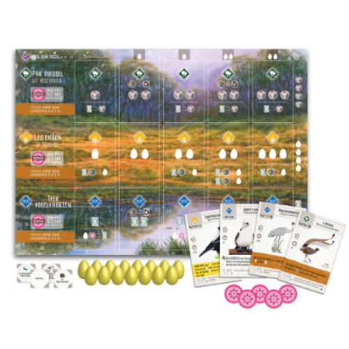999 Games Wingspan NL- Oceania expansion