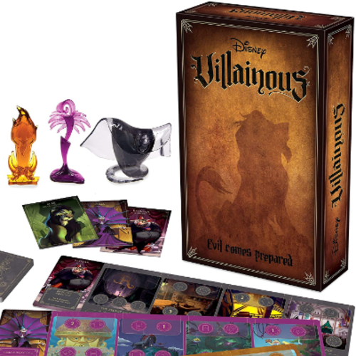 Ravensburger Disney Villainous- Evil Comes Prepared expansion