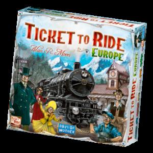 Days of Wonder Ticket to Ride NL- Europe