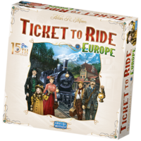 PREORDER- Ticket To Ride ENG- Europe 15th Anniversary  (JUNE 2021)
