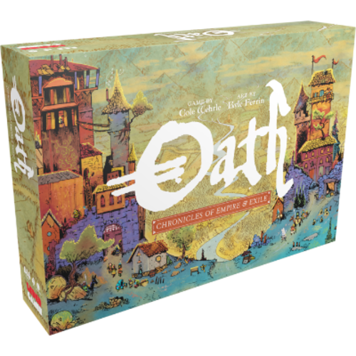 Leder Games PREORDER- Oath- Chronicles of Empire and Exile (SEPTEMBER 2021)