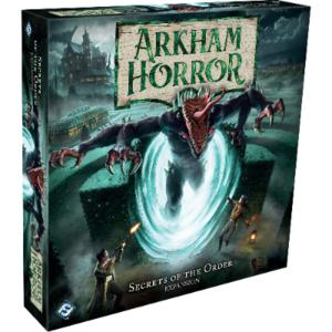 Fantasy Flight PREORDER- Arkham Horror 3rd Ed- Secrets of the Order expansion (MAY 2021)