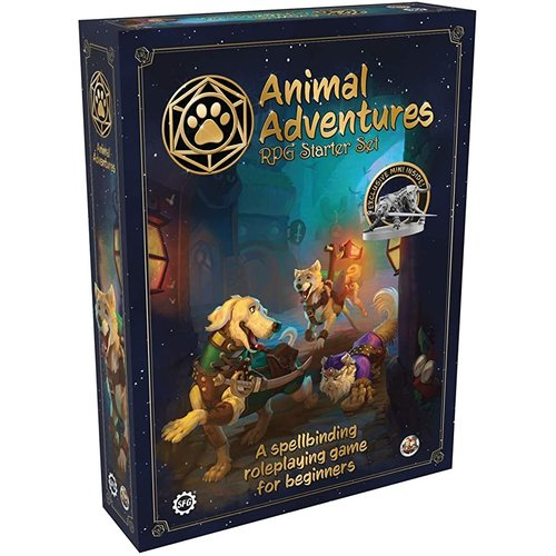 Steamforged Animal Adventures RPG Starter Set
