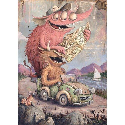 Heye Road Trippin' Puzzel (2000)