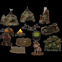 Pathfinder Battles- Legendary Adventures- Goblin Village Premium Set