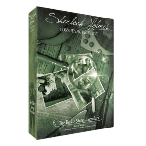 Space Cowboys Sherlock Holmes Consulting Detective- The Baker Street Irregulars