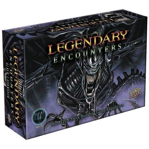 Upper Deck Legendary Encounters: An Alien Deck Building Game Expansion