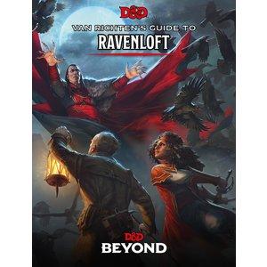 WotC - PREORDER- D&D 5E Van Richten's Guide to Ravenloft