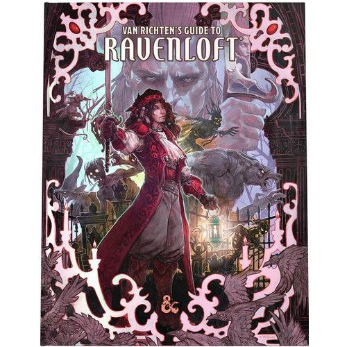 WotC - PREORDER- D&D 5E Van Richten's Guide to Ravenloft (Alternate Cover)