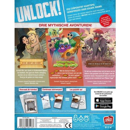 Space Cowboys PREORDER- Unlock! NL 8 Mythische Avonturen (APRIL 2021)