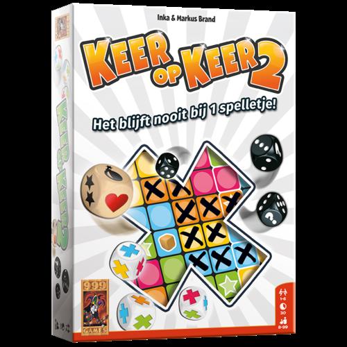 999 Games PREORDER- Keer op Keer 2 (MEI 2021)