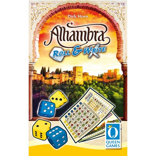 Queen Games Alhambra Roll & Write