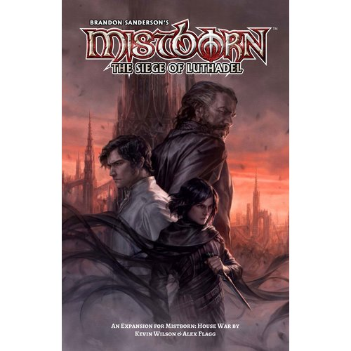 Crafty Games Mistborn House War - Siege of Luthadel Expansion