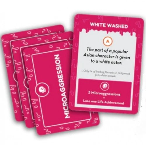 - Reality Check- The Game of Privilege- Microagression Cards