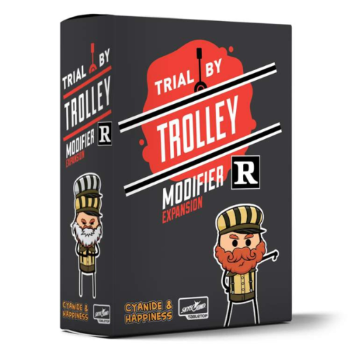 Skybound Games Trial by Trolley- R-Rated Modifier Expansion