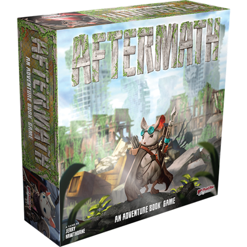Asmodee Aftermath An Adventure Book Game