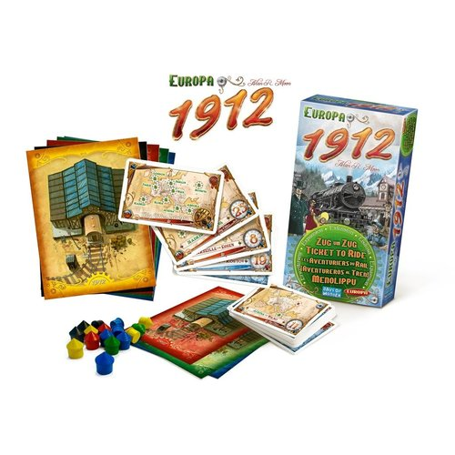 Days of Wonder PREORDER- Ticket to Ride- Europe 1912 exp.  (MEI 2021)