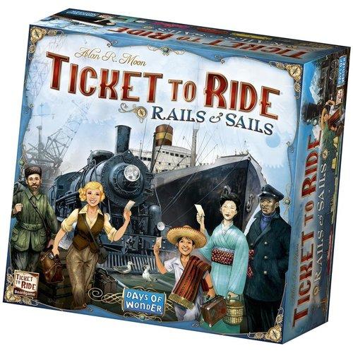Days of Wonder PREORDER - Ticket to Ride NL- Rails & Sails (MEI 2021)