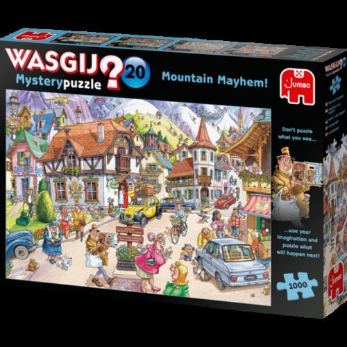 Jumbo Wasgij Mystery 20 - Vakantie in de Bergen (1000)