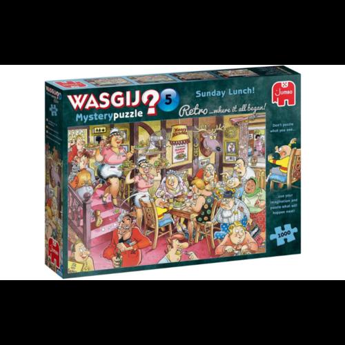 Jumbo Wasgij Retro Mystery 5 - Zondagse Lunch! (1000)